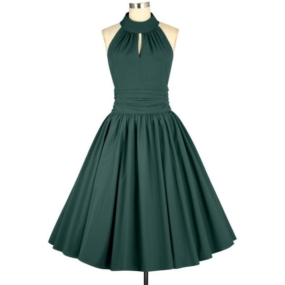 Dresses & Skirts - Plus Size Pin Up Swing Dance Clothing Circle Dress